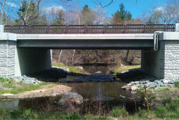 Town Uxbridge Boone County Bridge CDR Bridge System